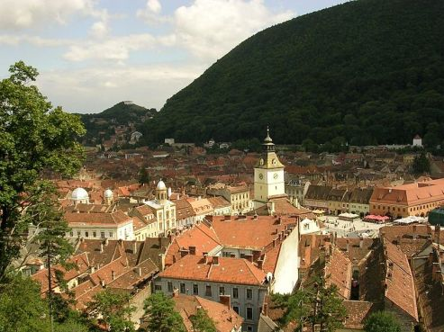 Romania Brasov_From_White_Tower